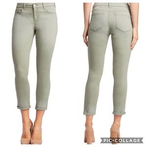 Jessica Simpson Forever Rolled Skinny Pants Green